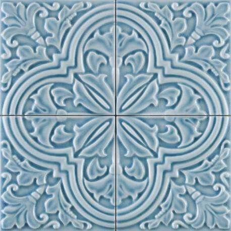 Плитка Ceramiche Grazia Formelle Algarve Cielo 13x13