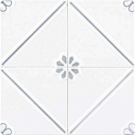 Плитка Ceramiche Grazia Formelle Anversa Argento 13x13