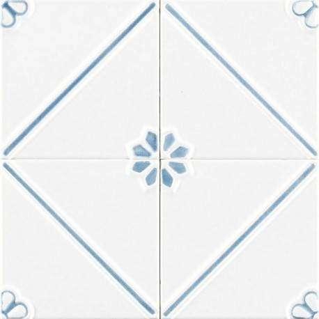 Плитка Ceramiche Grazia Formelle Anversa Cielo 13x13