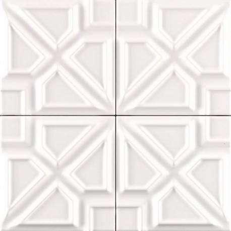 Плитка Ceramiche Grazia Formelle Milano Bianco 13x13