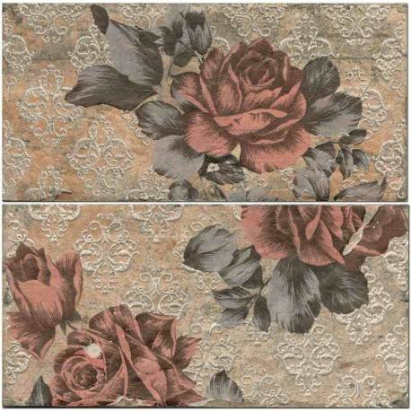 Chicago South Side Ins S/2 Vintage Roses 10x20