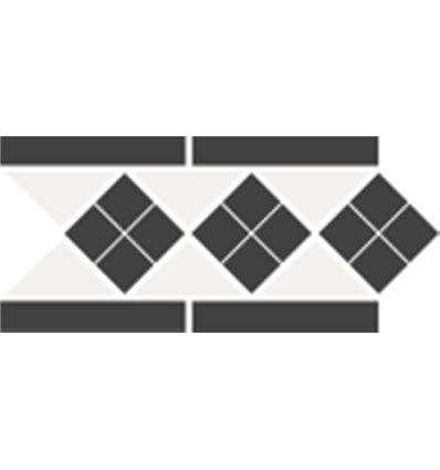 Плитка Topcer Border Lisbon-1 Tr.16 Dots 14 Strips 14 28x15