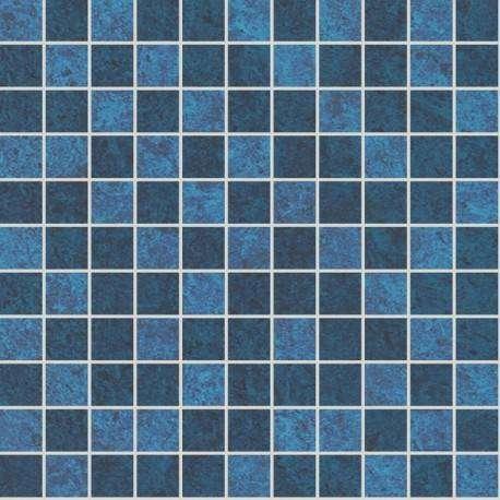 Плитка ArtiCer Pietra D'Oro Mosaico Blue 24x24