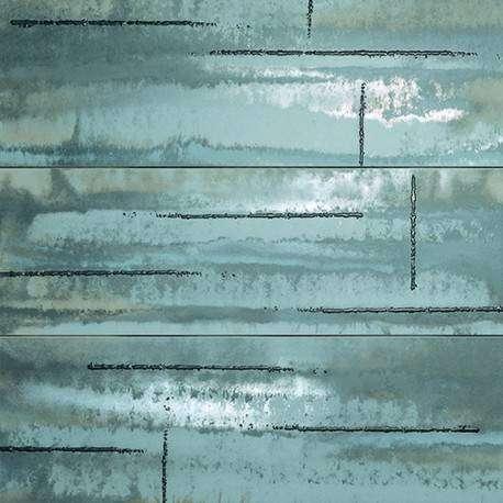 Плитка FAP Ceramiche Evoque Acciaio Silver Inserto Mix 3 Rt 91.5x91.5