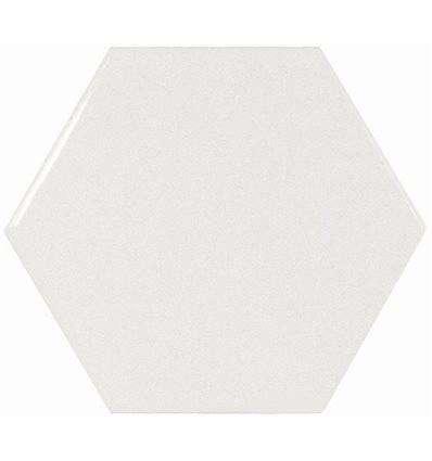 Плитка Equipe Scale Hexagon White 10.7x12.4