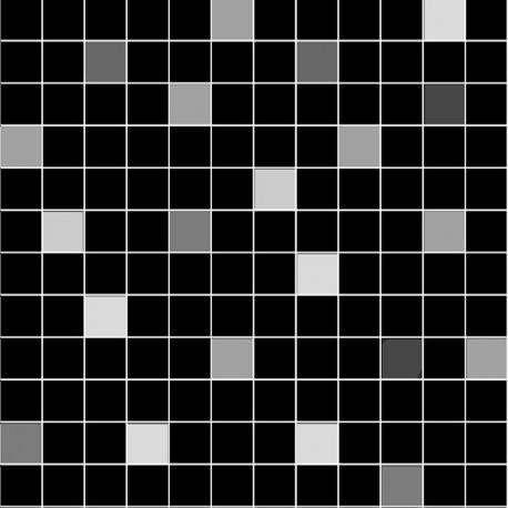Плитка ArtiCer Maestro Mosaico Noir 30x30