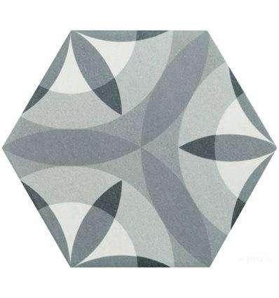 Плитка Equipe Hexatile Nature B&W 17.5x20