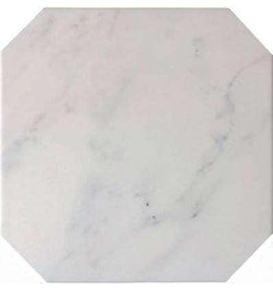 Плитка Equipe Octagon Marmol Blanco 20x20