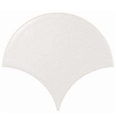 Плитка Equipe Scale Fan White Matt 10.6x12