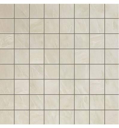 Marvel Edge Imperial White Mosaico Matt 30x30