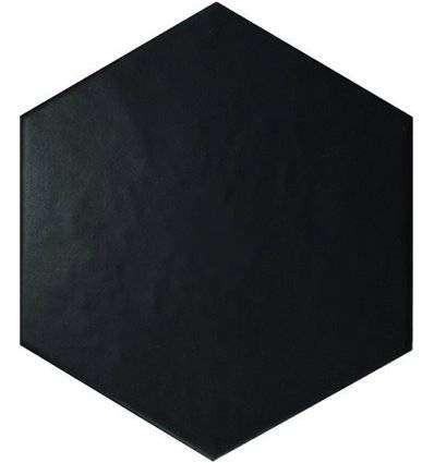 Плитка Equipe Hexatile Negro Mate 17.5x20