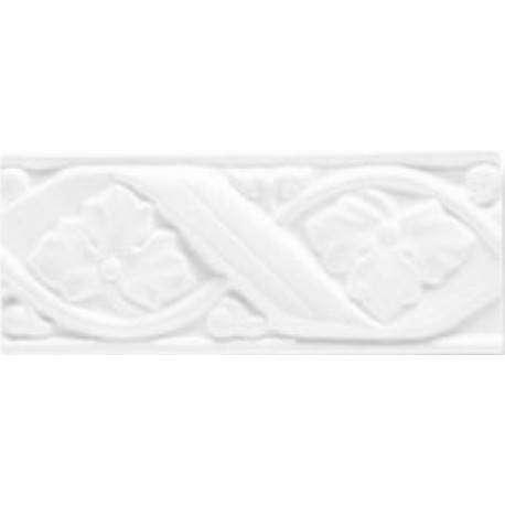 Boiserie Gemme Bianco matt. 8x20